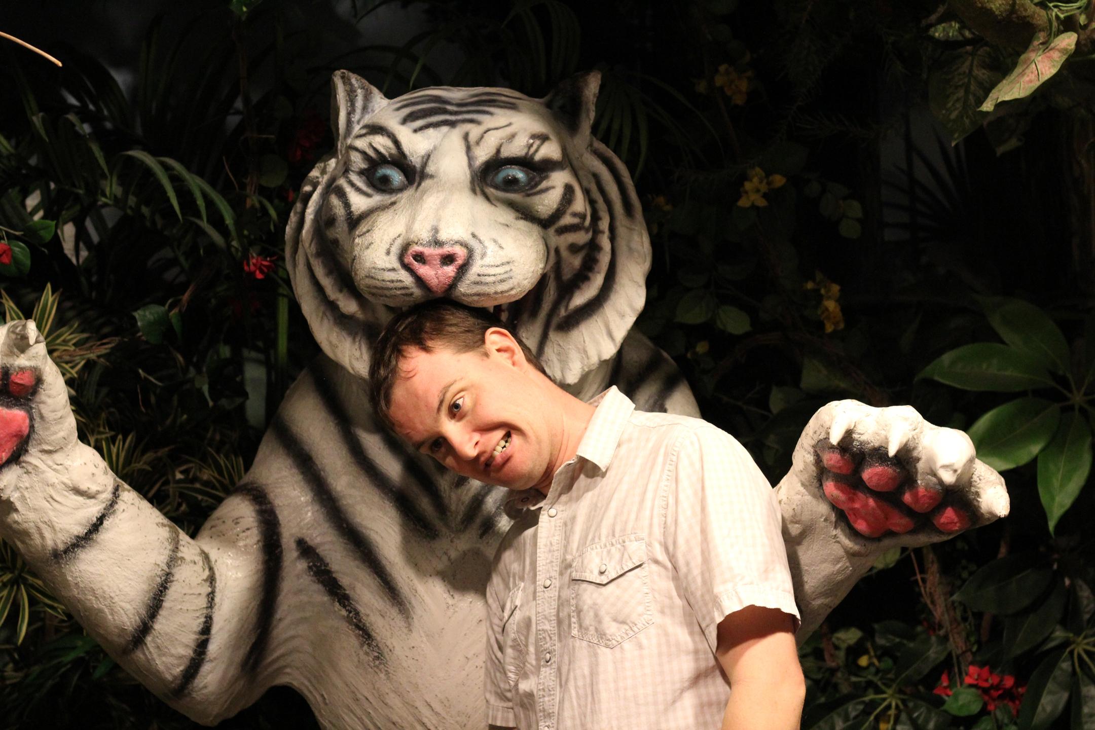 David with kitty